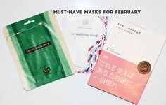 Gouldylox : Must-Have Masks To Try In February