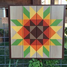barn quilt sunflower - Google Search
