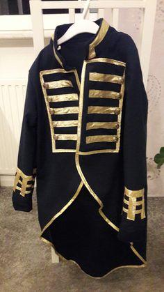 Admiral Jacke nach Fotovorlage