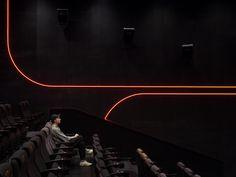 BONA INTERNATIONAL CINEPLEX - BONA INTERNATIONAL CINEMA AT PARADISE WALK MALL (PULSE ON) - One Plus Partnership Cinema Theatre, Theatre Design, World Trade, Creative Inspiration, Design Elements, Mall, Audi, Paradise, House Design