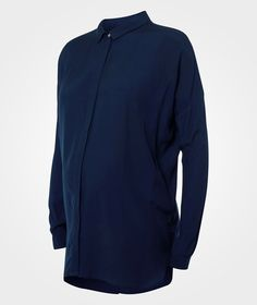 Noppies Blouse ls Mena Dark Blue Blå