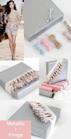 3 DIY Gift Wrap Ideas For Fashion Lovers