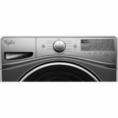 Whirlpool - 4.5 cu. ft. 11-Cycle High-Efficiency Front Load Washer with Steam…