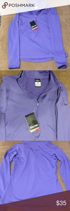 Nike pro dri-fit women's running NWT medium M Nike pro dri-fit women's running shirt NWT medium M athletic top. I accept reasonable offers and ship quickly. Thank you for looking. Nike Tops