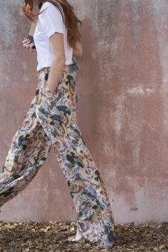 Patterned slacks by Elizabeth and James... a must have for spring