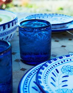 Hand-etched glassware from Mexican artisans {The Little Market}