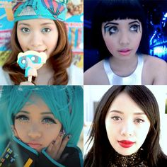This is Michelle Phan.  Her youtube makeup tutorials are amazing.  Check them out!
