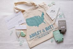 Sweet Kiera Sea Glass Heart Cookie favors in welcome bags for Ashley + Matt's Belle Mer Wedding! Photography: Sweet Monday Photography - www.sweetmondayphotography.com Read More: http://www.stylemepretty.com/2014/12/22/seaglass-inspired-wedding-at-belle-mer-island-house/