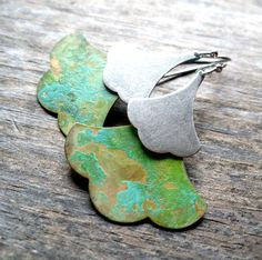 ginkgo earrings - these are gorgeous!