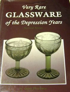Very Rare Glassware of Depression Years 1991 by ChinaGalore, $20.00
