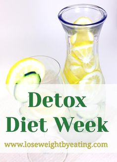 Detox Diets are great for cleansing out your body. You can detox regularly by using the detox diet plan as a regular part of your lifestyle. A proper detox diet will help you lose weight and will make you feel lighter and better than ever before. 7 Day Detox Diet, Detox Cleanse For Weight Loss, Detox Diet Plan, Healthy Detox, Healthy Drinks, Healthy Weight, Cleanse Detox, Detox Tea, Week Diet