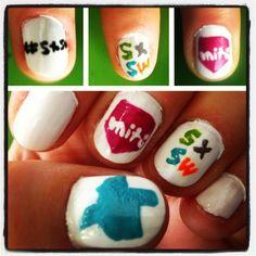 SXSW nails!
