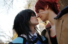 Outlaw Star Gene and Melfina