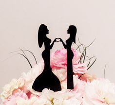 Hey, I found this really awesome Etsy listing at https://www.etsy.com/listing/186201991/stunning-ladies-love-cake-topper