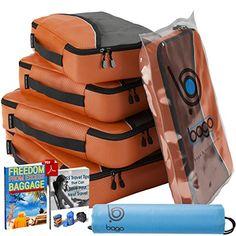 Packing Cubes Value Set for Travel - 4 Organizers & Documents Protector (ORANGE) bago http://www.amazon.com/dp/B00FTUMG94/ref=cm_sw_r_pi_dp_Ql3bvb0RAPDTF