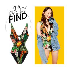 """The Daily Find: Zara Trikini"" by polyvore-editorial ❤ liked on Polyvore featuring DailyFind"