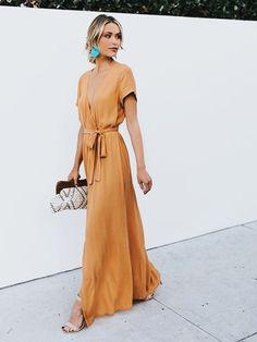 Casual summer dresses - Looks - Summer Dress Outfits Maxi Wrap Dress, Dress Skirt, Maxi Skirts, Skirt Outfits, Sexy Maxi Dress, Long Skirts, Swag Dress, Shirt Dress, Wrap Around Dress