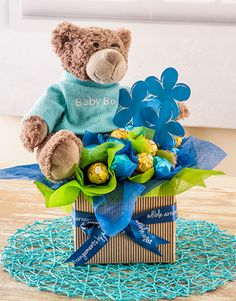 It's a boy Chocolate Arrangement