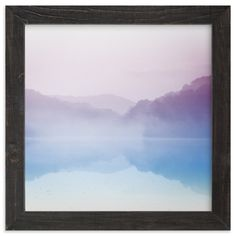 """Chasing Fog"" - Art Print by Emily Coey in beautiful frame options and a variety of sizes."
