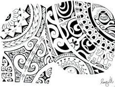 Marquisian Armor Tattoo Pattern on Torso and Shoulder - Tatoo - Tatouage Verse Tattoos, Leg Tattoos, Tribal Tattoos, Sleeve Tattoos, Tatoos, Trendy Tattoos, Tattoos For Guys, Samoan Tattoo, Tattoo Maori