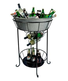 Look at this Galvanized Oasis Party Station on #zulily today!