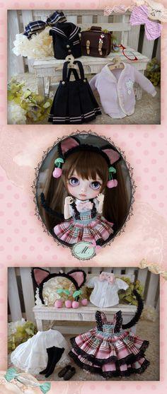 Cat schoolgirl #Blythe