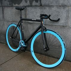 Bianchi Road Bike - Inspired by Tron, glow in the dark tires for bikes