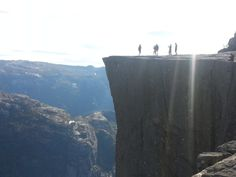 Prekestolen Preachers pulpit - rogaland, Norway