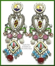 Ayala Bar Magnolia Earrings