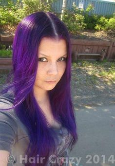 Buy Deep Purple Special Effects Hair Dye - HairCrazy.com