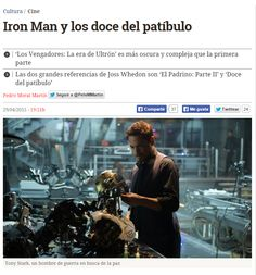 Iron Man y los doce del patíbulo / @eldiariocultura | #scifi