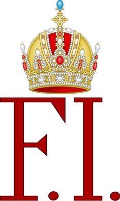 Imperial Monogram of Emperor Francis I of Austria. — in Austria.
