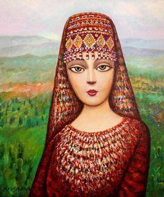 Gorgeous Family Oil Painting by Sevada Grigoryan.|FunPalStudio|Illustrations,  Entertainment, beautiful, creativity, nature, Art, Artwork, Artist, drawings, painting, culture, oil painting.