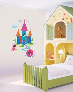 Cinderella on pinterest fairy godmother fairy godmother for Fairy castle mural