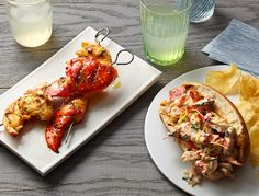 Lobster 12 ways - article by Mark Bittman, New York Times Lobster Recipes, Seafood Recipes, Shrimp Burger, Shrimp Kabobs, Fish And Seafood, My Favorite Food, Food Photography, Food And Drink, Yummy Food