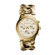 Michael Kors Women s Runway Gold-Tone Watch MK3131 Michael Kors Karóra aeda17799b