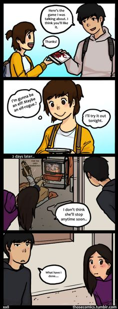 Dragon Age: Origins by hPolawBear on DeviantArt Cute Couple Comics, Couples Comics, Cute Comics, Funny Couples, Funny Comics, Anime Couples, Derp Comics, Rage, Relationship Comics