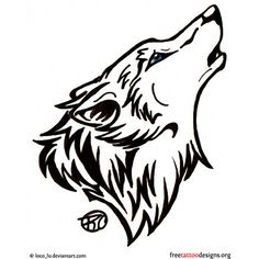 Wolf Tattoos ❤ liked on Polyvore featuring accessories, body art, tattoos, backgrounds, pics and tatoos