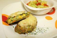 Zeleninové placky - Receptik.sk Quiche, Breakfast, Food, Morning Coffee, Essen, Quiches, Meals, Yemek, Eten