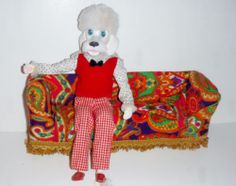 Vintage Miss Peteena Poodle Dog Doll Boyfriend Pete Mr Peteena | eBay