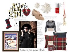 """""""Winter is coming!"""" by jelmini ❤ liked on Polyvore featuring H&M, Williams-Sonoma, Pottery Barn, Pendleton, Villeroy & Boch, MaxMara, Christian Dior, Dot & Bo and Smileisthenewblack"""