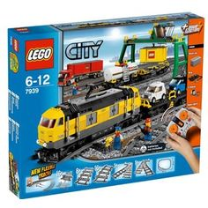 Love Lego's Cargo Train building set, which allows one to combine a love of trains and Lego.