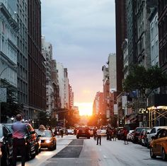 Skirt The Rules // Sunset in Manhattan // 20 Things to Do Around NYC This Summer