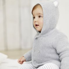 Bear Ears Cardigan | The White Company