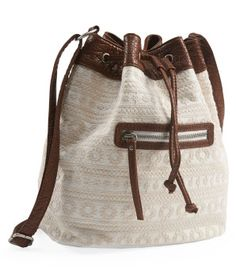 Great for summer $20 / Crocheted Bucket Bag - Aéropostale®