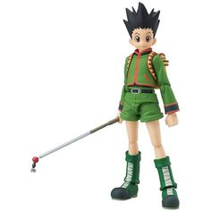 Good Smile Hunter X Hunter: Gon Freecss Figma ** Want to know more, click on the image. (This is an affiliate link) #ActionFiguresStatues