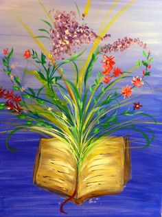 "Prophetic Painting "" The Book of Life"" by Andrea Riley"