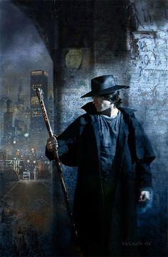 Artist: Chris McGrath  Character: Harry Dresden