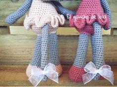 #elganchodelola #hechoamano #amigurumi #crochet #gatitatendiendoropa