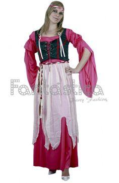 Disfraz para Mujer Campesina del Renacimiento Medieval 18.00